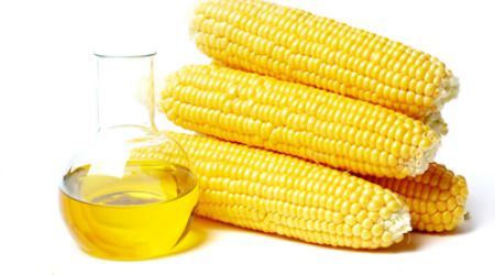 Yellow corn oil